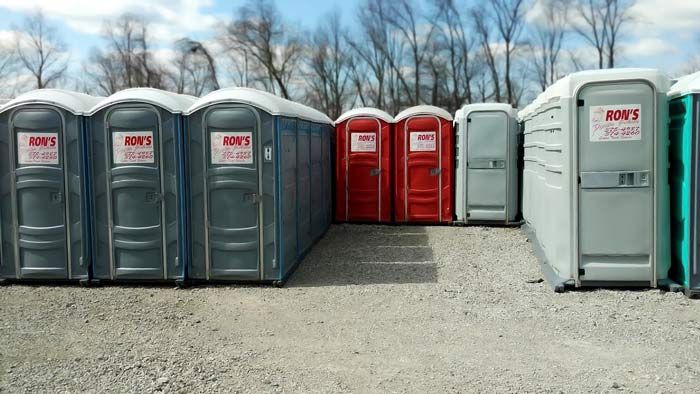 port a potties
